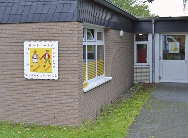 Fassadenschild EKS Grevenbroich