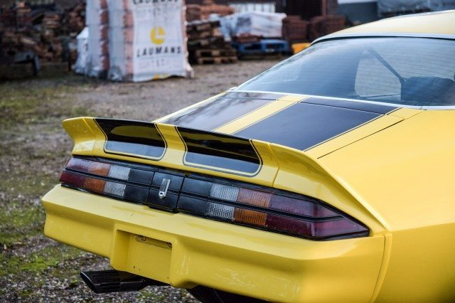 Chevrolet Camaro Heck
